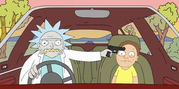 This horribly terrifying parody is what 'Rick and Morty' fans deserve.