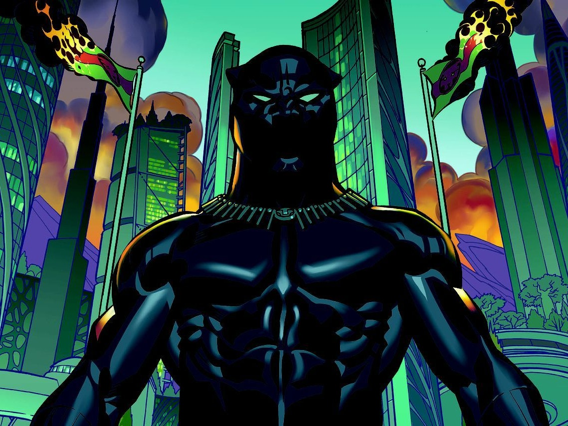 Cover for Marvel's Black Panther by Ta-Nehisi Coates and Brian Stelfreeze