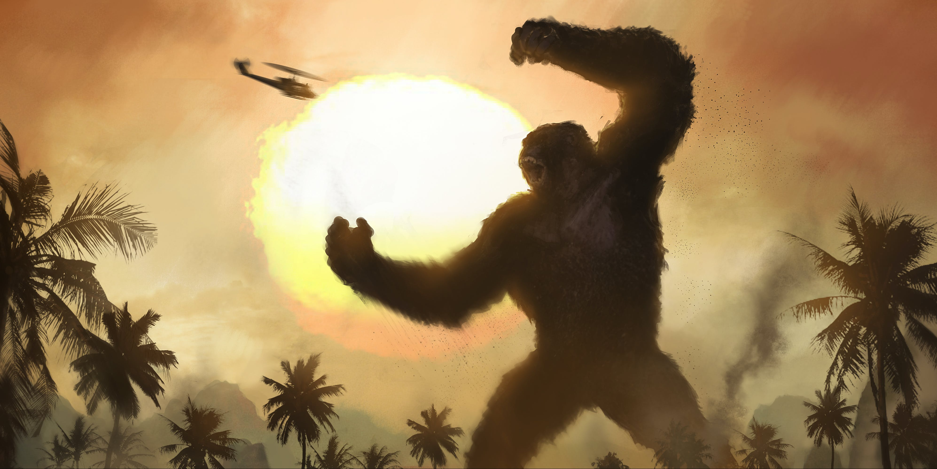 New 'Kong: Skull Island' Concept Art Reveals Wild and Unused Monsters