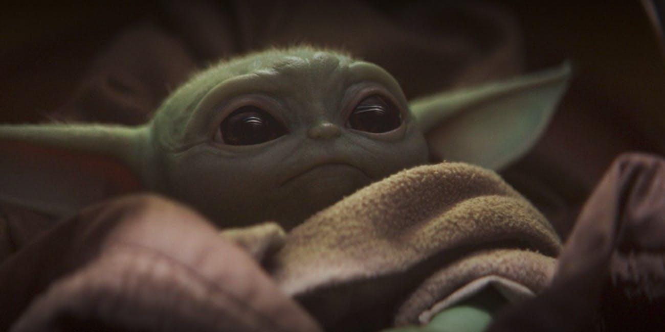 "Baby ""Yoda"" in 'The Mandalorian'"