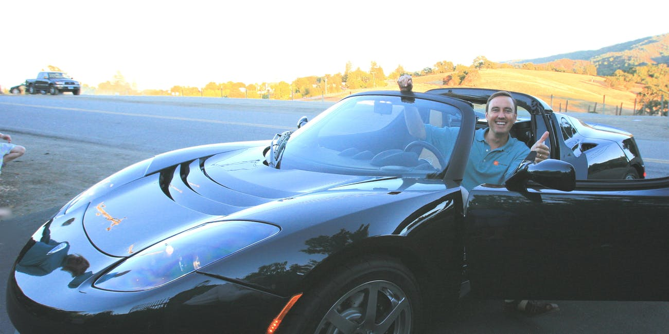 My Tesla Arrived!