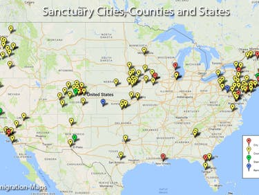Why the White House is Railing Against These 'Sanctuary Cities'