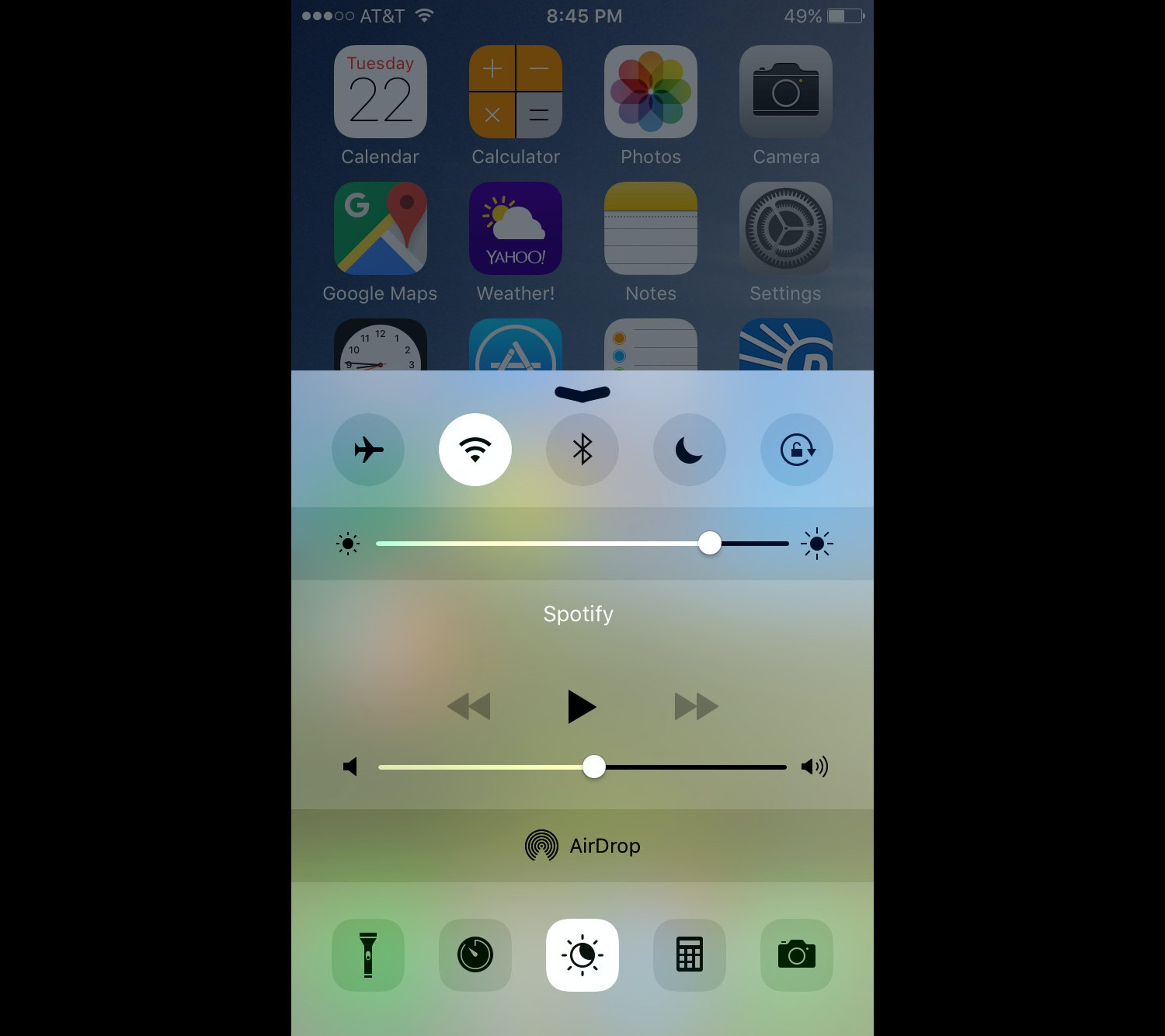How do you turn off auto brightness on iphone 6 7