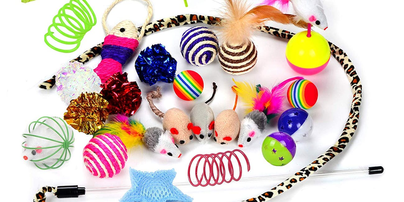 CAT TOYS FOR THE HIGHEST RATED CAT SUPPLLIES ON AMAZON