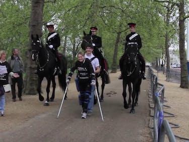 Pregnant Paraplegic Completes 13-mile Run in Exoskeleton