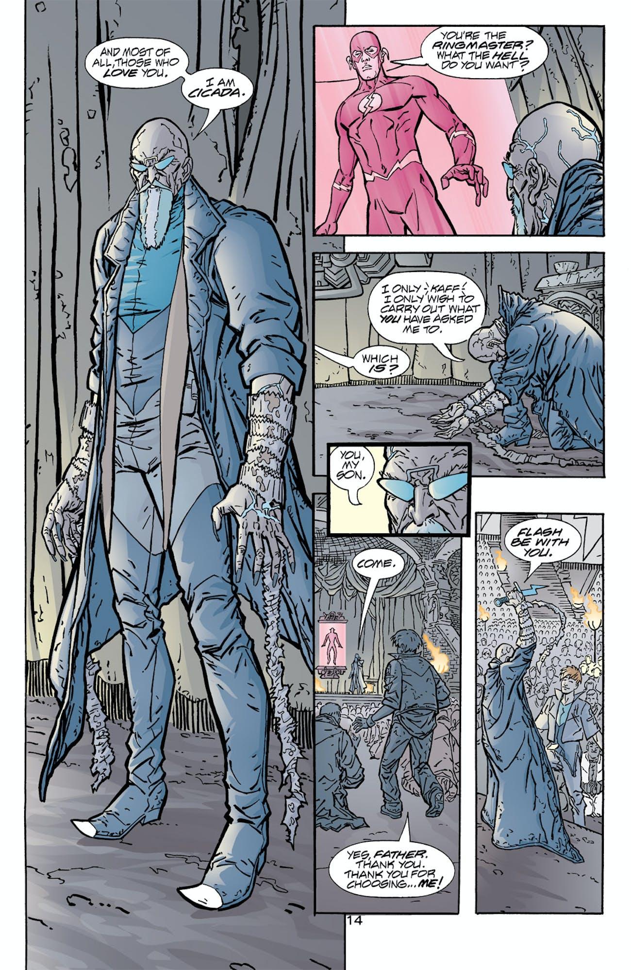 The Flash Season 5 Cicada