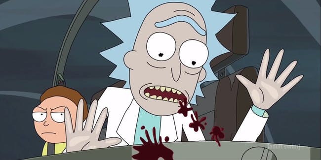 "In ""Look Who's Purging Now,"" Morty has some unbridled rage."