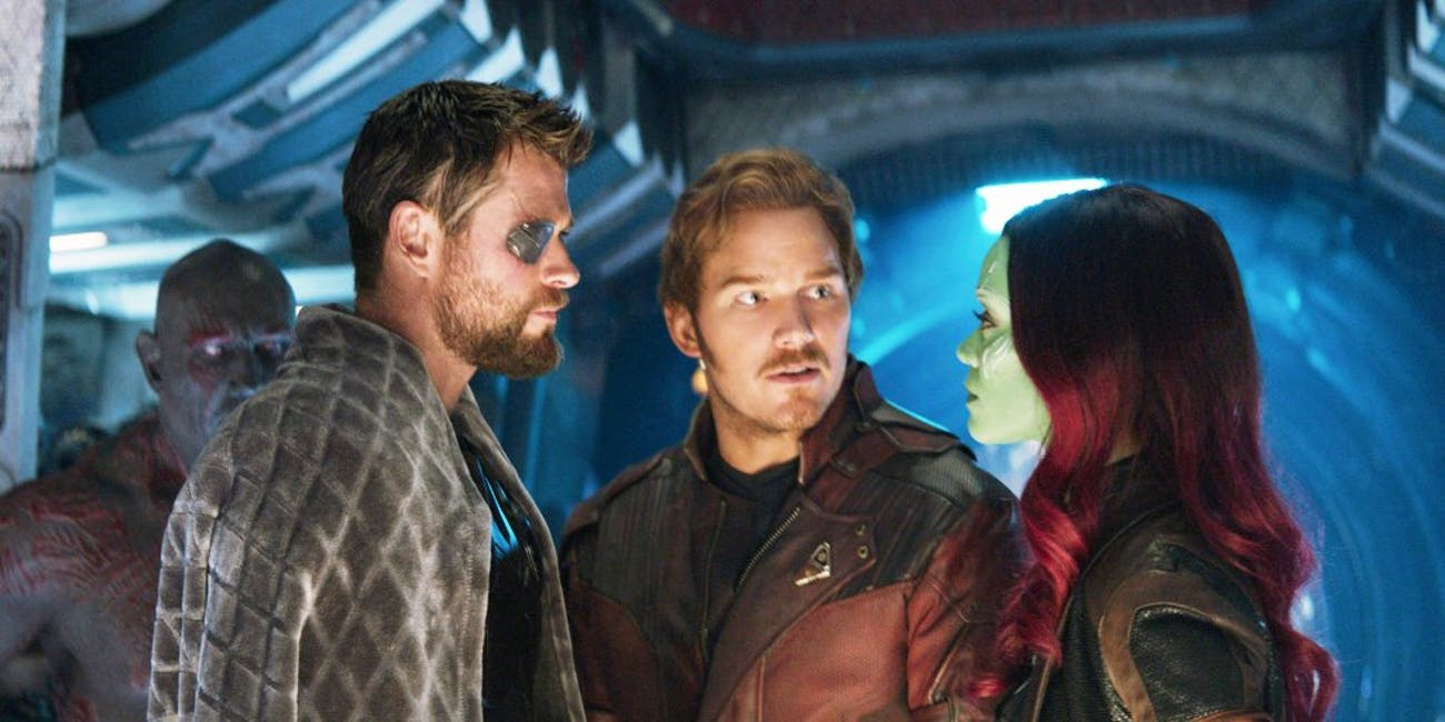 The third 'Guardians of the Galaxy' movie could actually take place before 'Infinity War'.