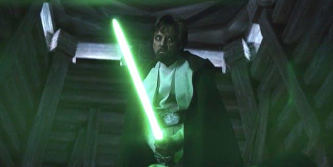 Luke Skywalker is loco crazy.