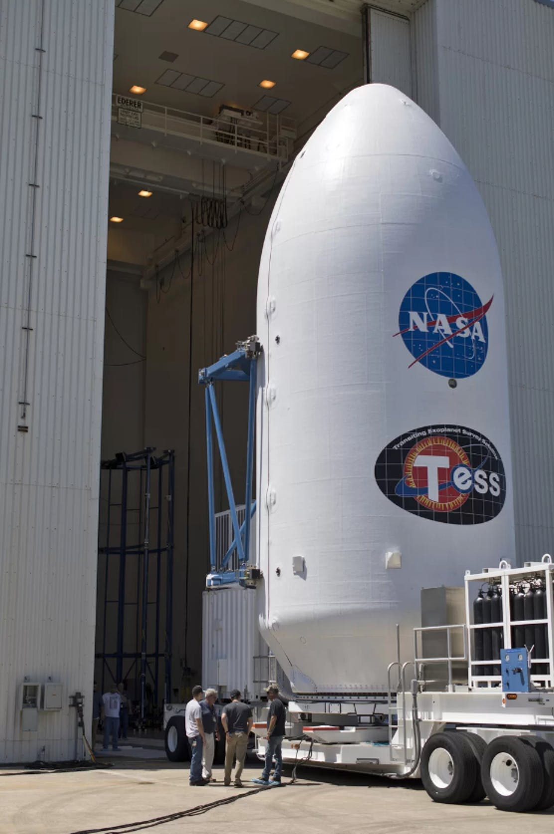 TESS at the Kennedy Space Center in Florida