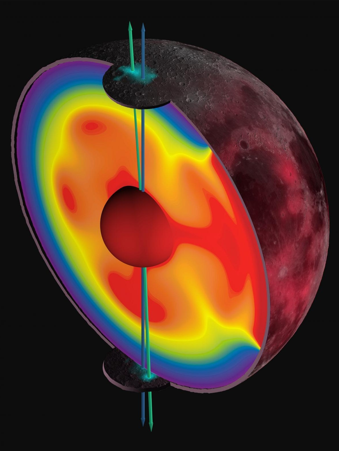 Here's How Volcanic Activity Tilted the Moon's Axis 3 Billion Years Ago