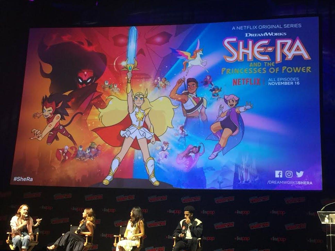 'She-Ra' an NYCC 2018