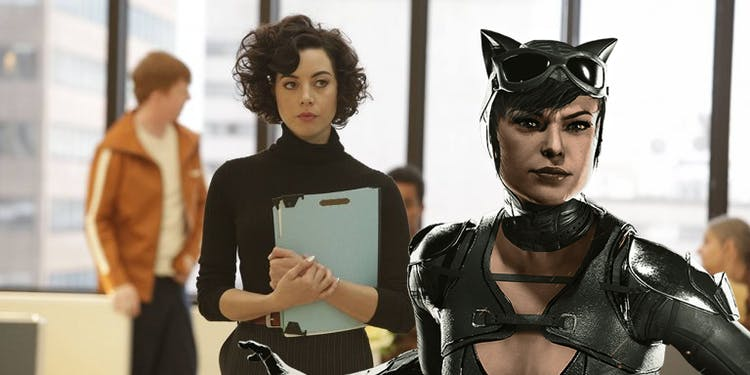 Aubrey Plaza Really, Really, Really Wants to Play Catwoman