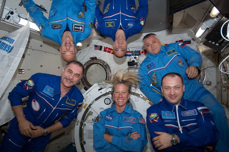 On months-long expeditions in space, astronauts' bodies have to deal with a gravity-free environment very different to what they're used to on Earth.