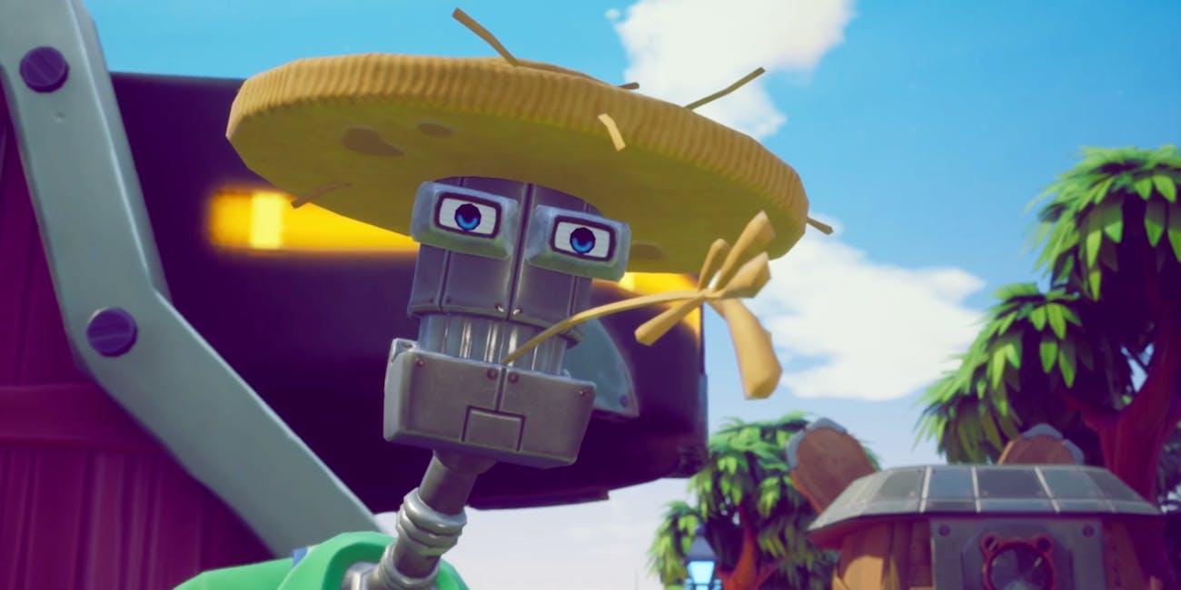 Robot farmer from Spyro Reignited Trilogy