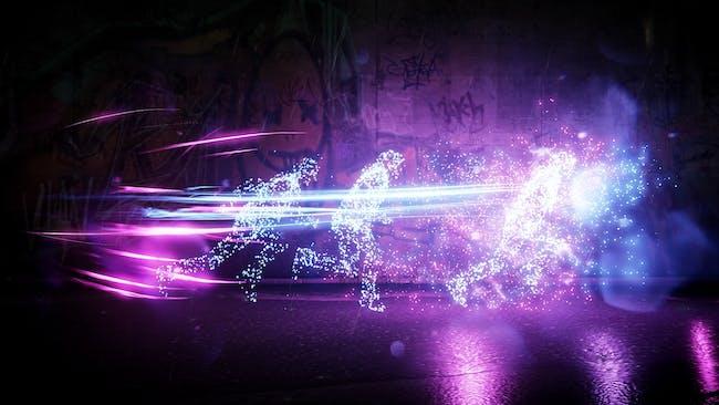 Neon Light Speed on display.