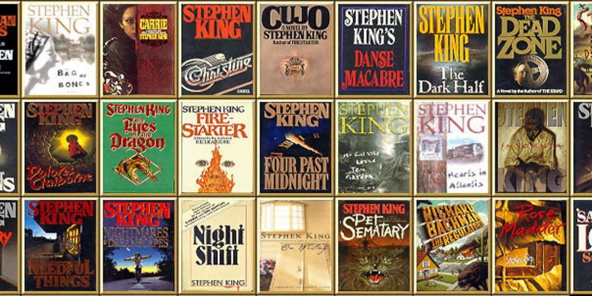 Image result for stephen king books