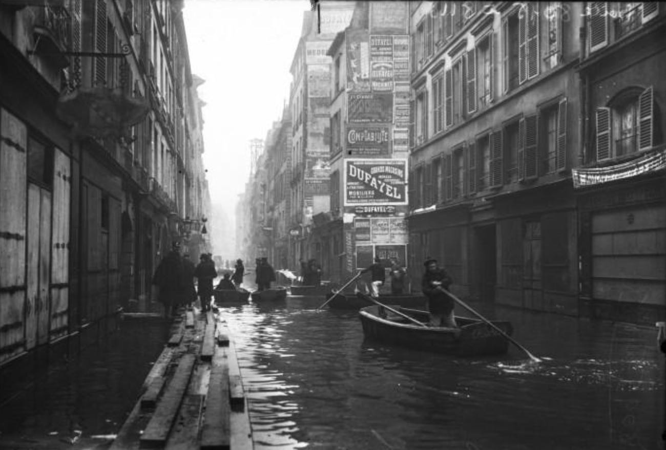 Paris Great Flood 1910