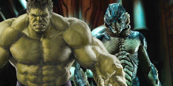 'The Shape of Water' and Hulk