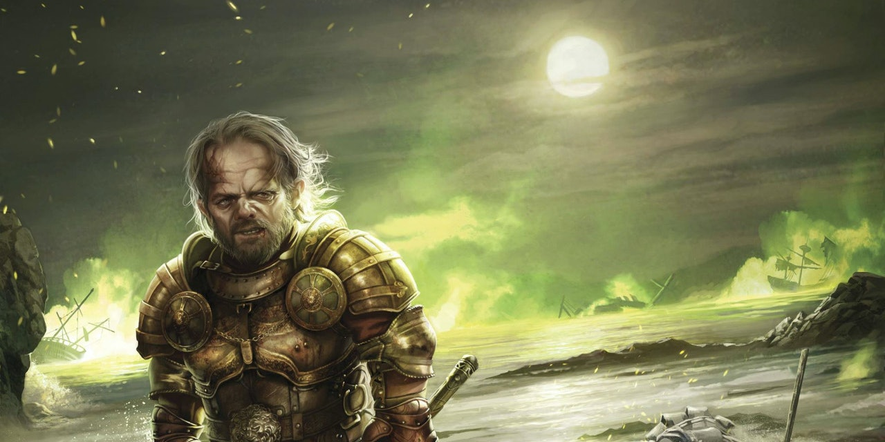 Tyrion Lannister looks tired after kicking some ass at Blackwater.