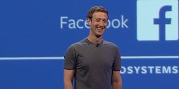 Inside Facebook F8's Mark Zuckerberg keynote.