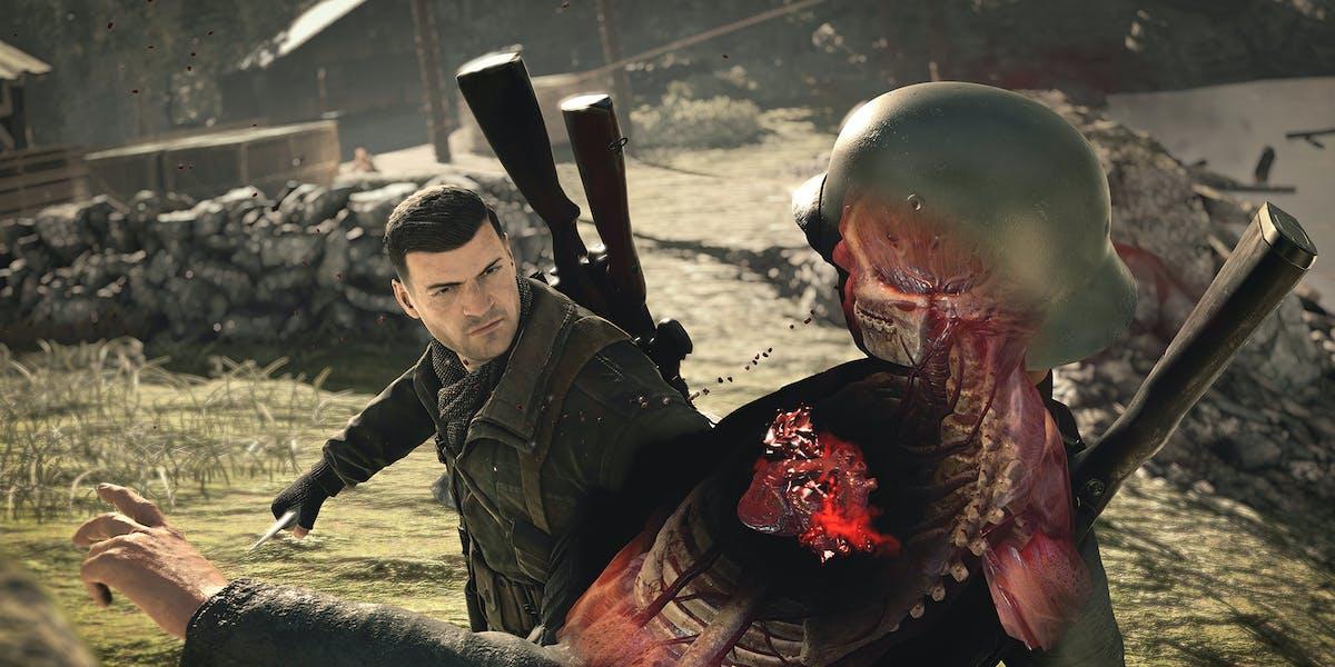 'Sniper Elite 4'