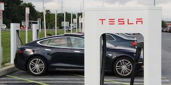 Charging Tesla Model S