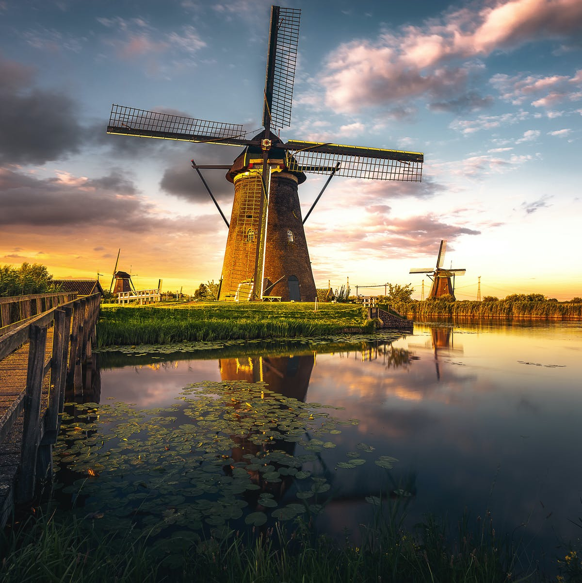 An iconic symbol of the Netherlands is causing the nation to sink