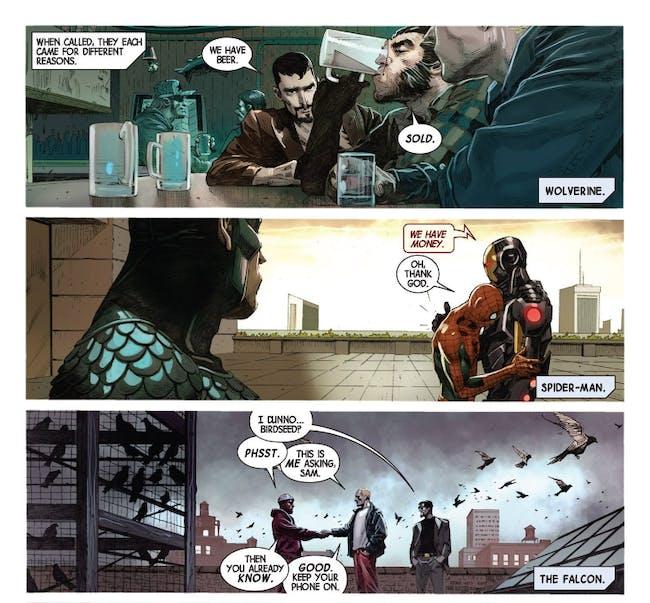 Spider-Man Jonathan Hickman Avengers