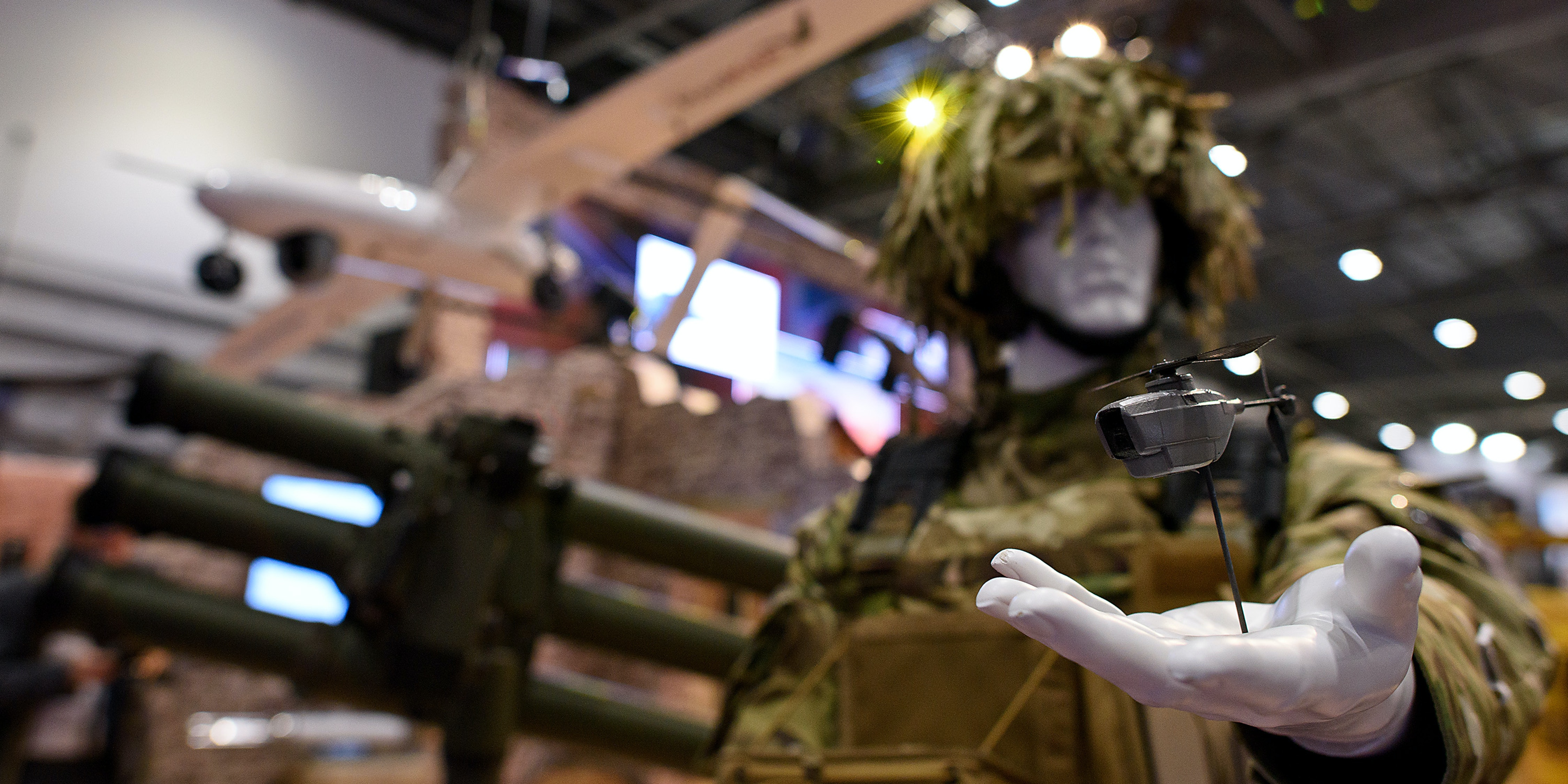 The Military's Micro-Drones Aren't Armed. For Now.