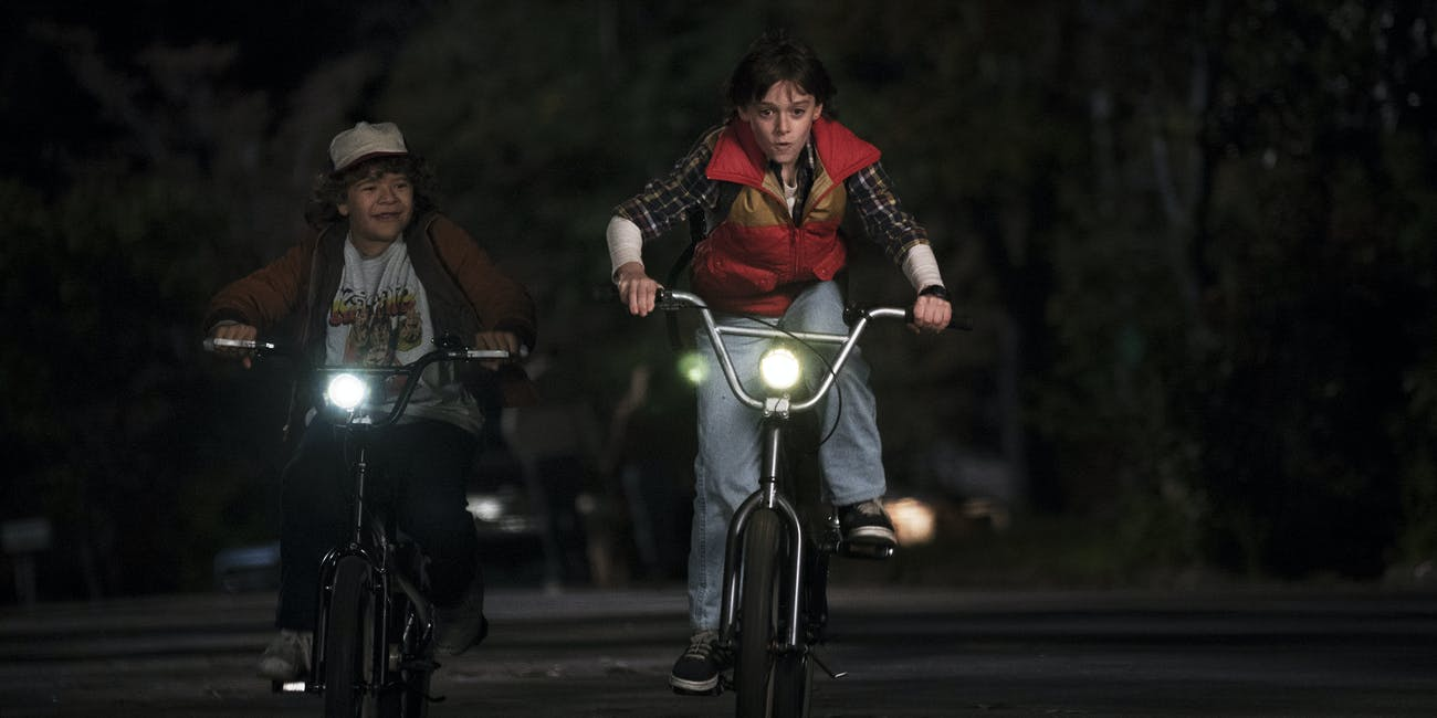 Stranger Things Steven Spielberg And Bmx Bikes As A Means Of Kid