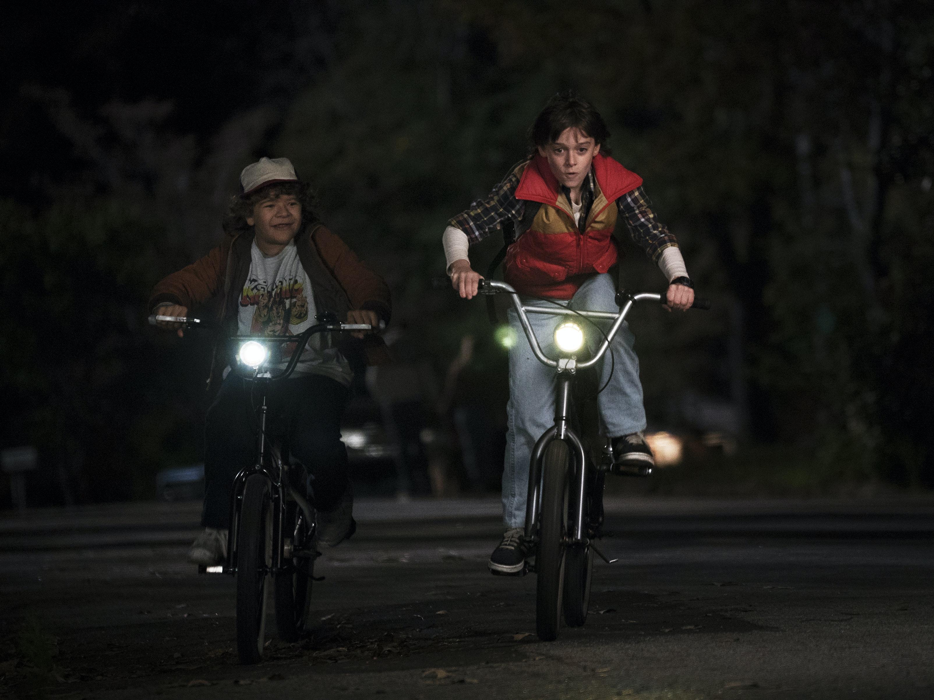 BMX Bikes as Symbols of Childhood Freedom on 'Stranger Things'