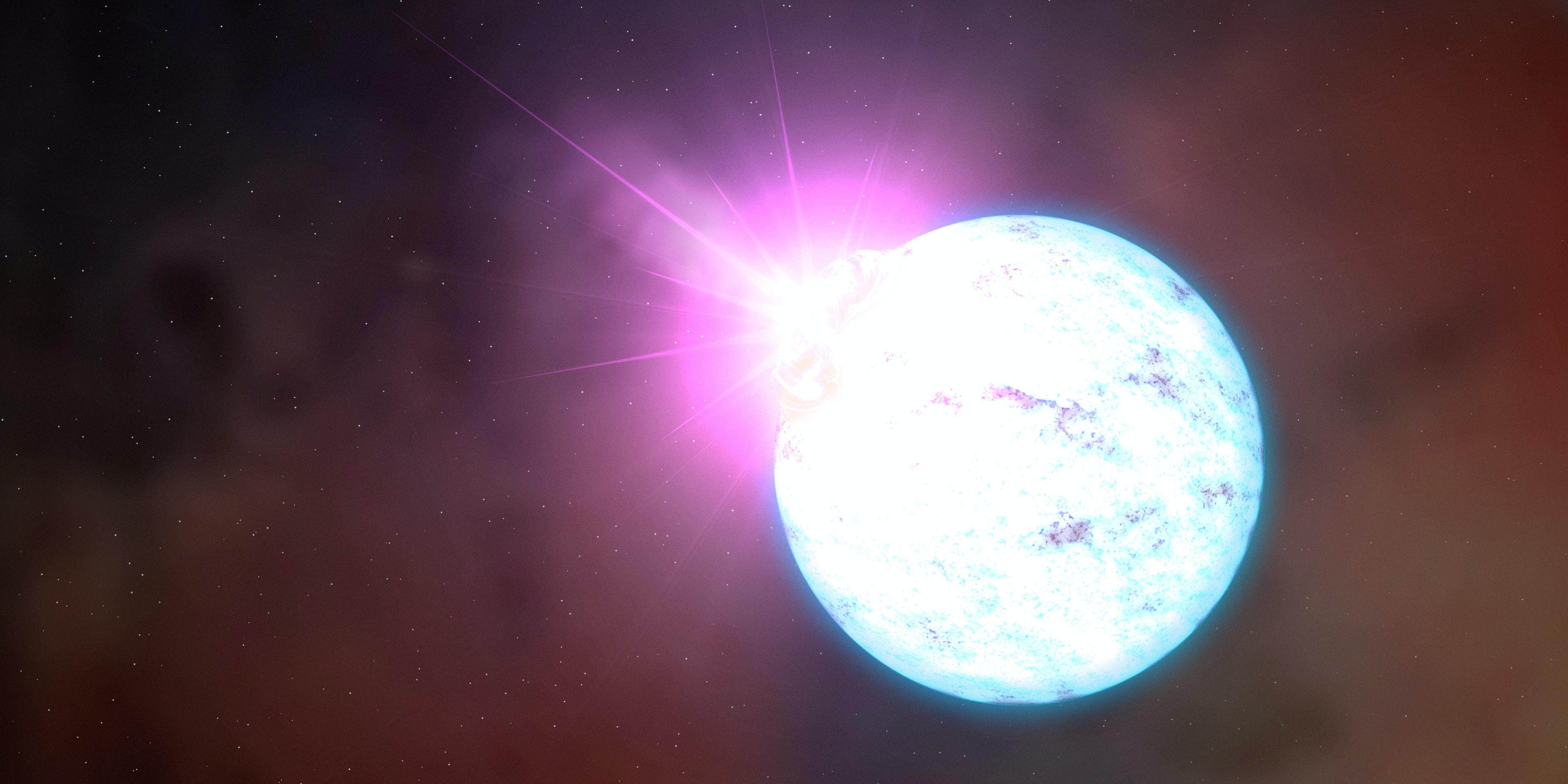 magnetic neutron star magnetar