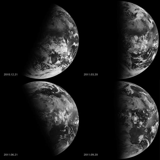 earth equinoxes solistices