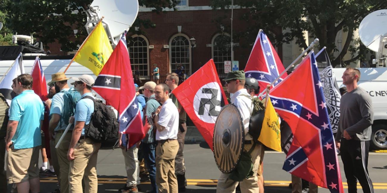 Charlottesville white supremacy virginia rally