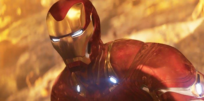 Iron Man in 'Infinity War'