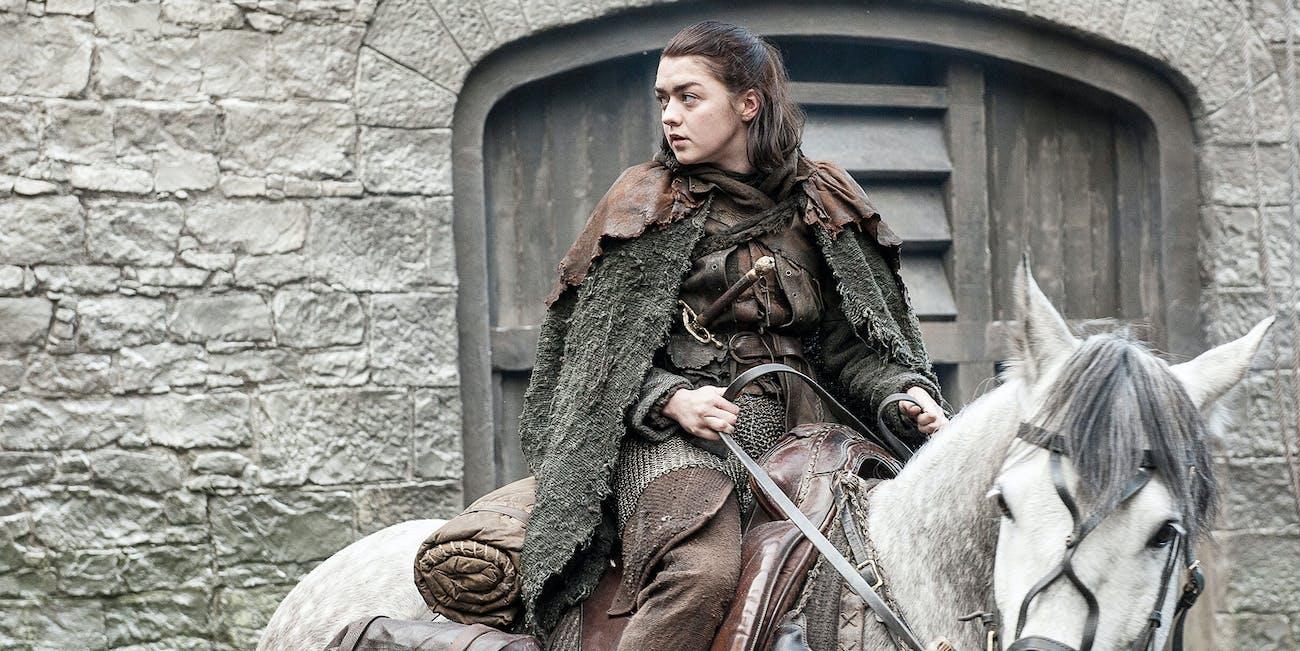 Arya Stark in 'Game of Thrones' Season 7