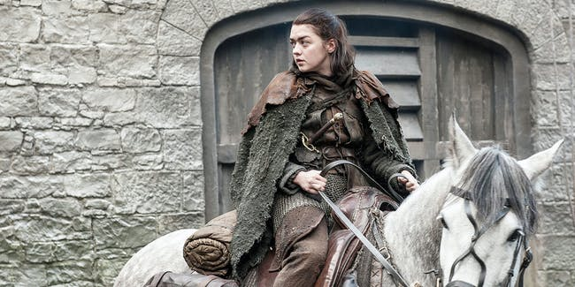 Arya Stark in 'Game of Thrones' Season 7