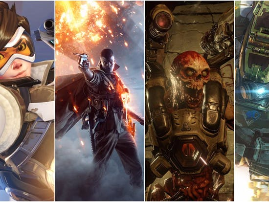 Shooters Ruled Video Games in 2016