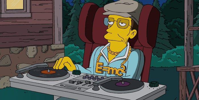 Stephen Hawking made regular cameos on 'The Simpsons'.