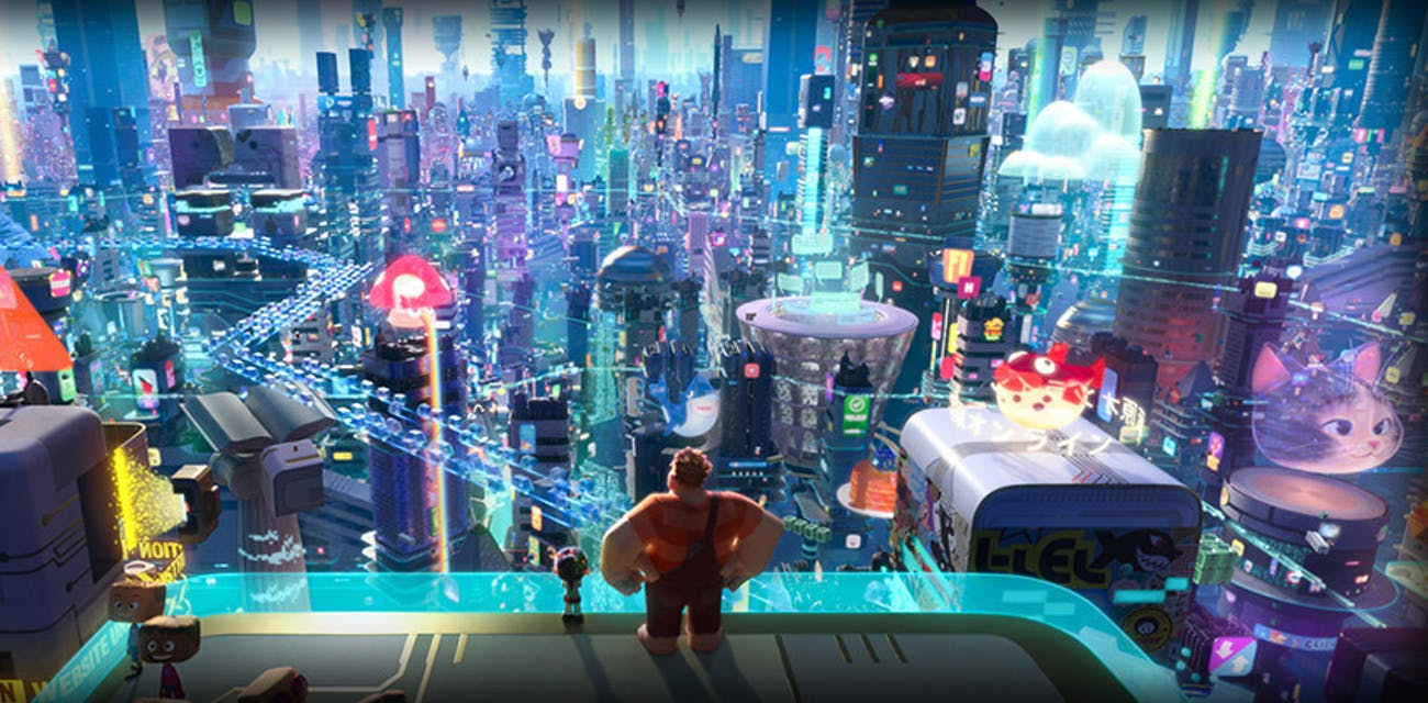 wreck it ralph 2 breaks the internet
