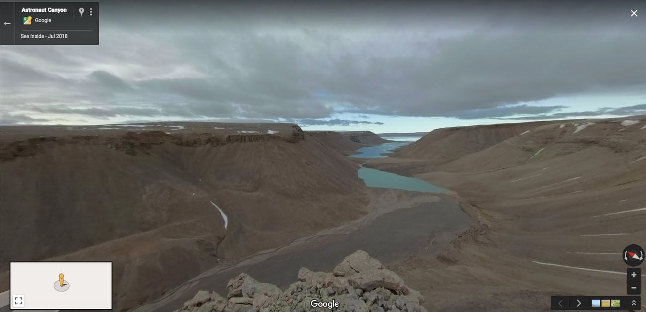 This Mars-Like Island Is Now On Google Street View | Inverse