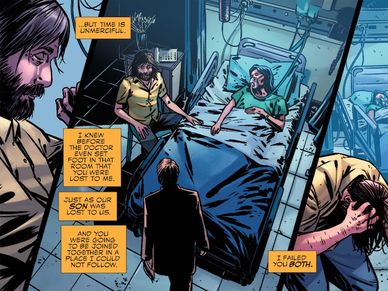Kaecilius in Marvel's Doctor Strange Prequel Comics