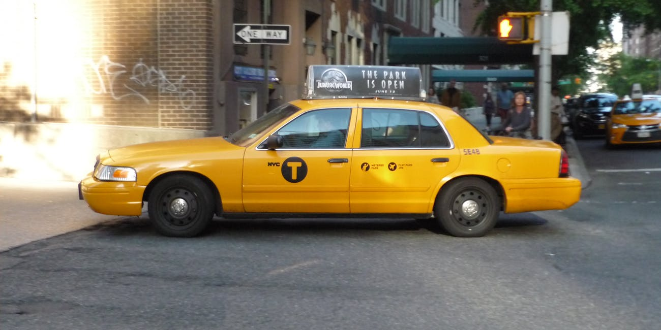 NYC Taxi Ford Crown Victoria