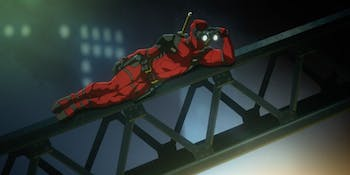 Deadpool animated series test footage.