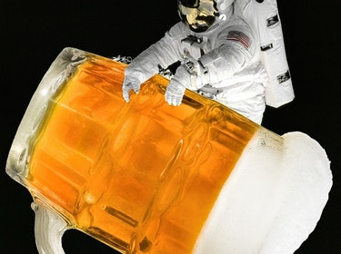 Space Beer Can't Exist Because Bubbles Need Gravity