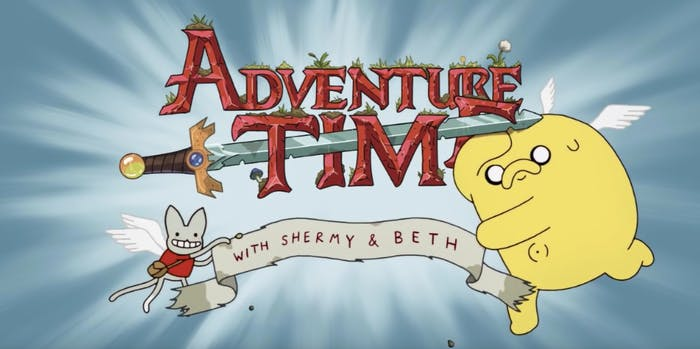 adventure time finale opening