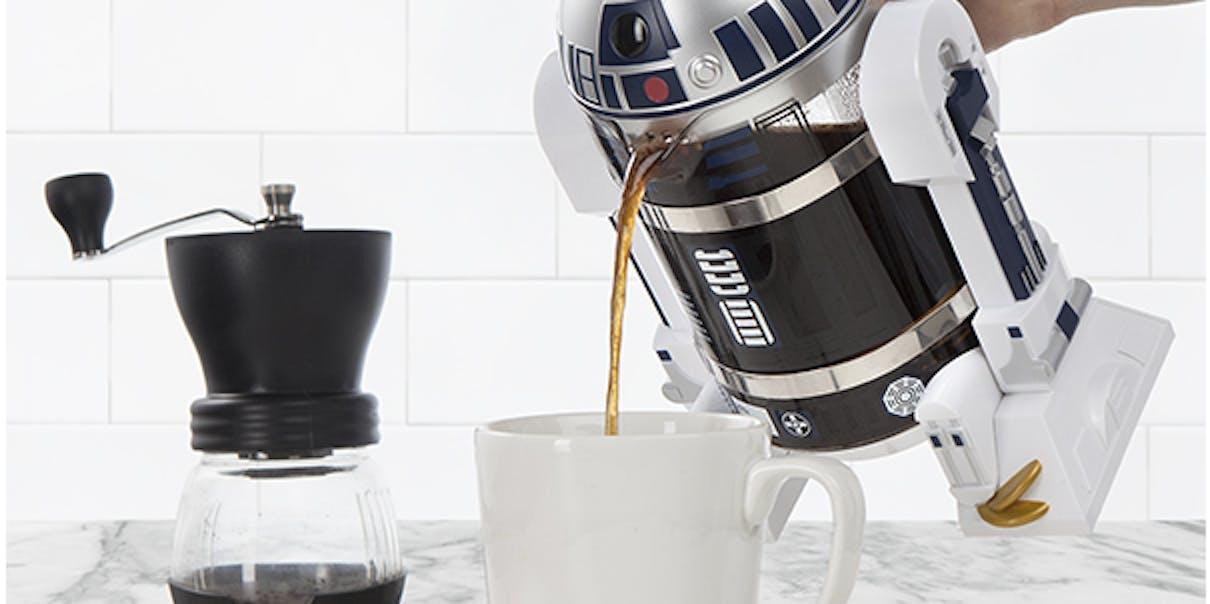 ThinkGeek Released a Sacrilegiously Beautiful R2D2 Coffee