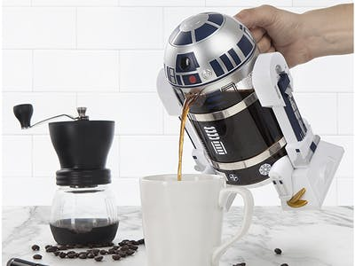 You Can Now Buy a Sacrilegiously Beautiful R2-D2 Coffee Press
