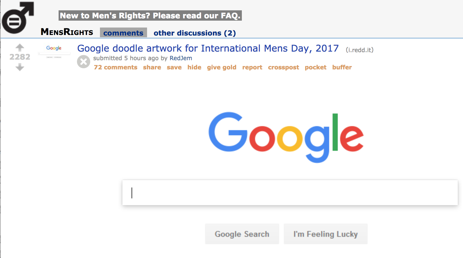 International Men\'s Day\